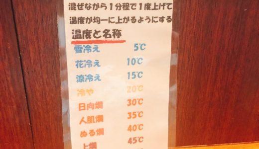 日本酒の温度を変えたら味がどう変わるか実験!詳細レポ